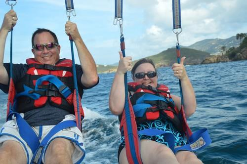 Me on Vacation Parasailing