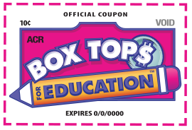 Box Tops for Education Clip