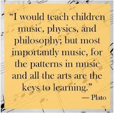 Quote from Plato about Music Education