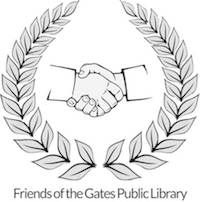 friends of the gates public library logo