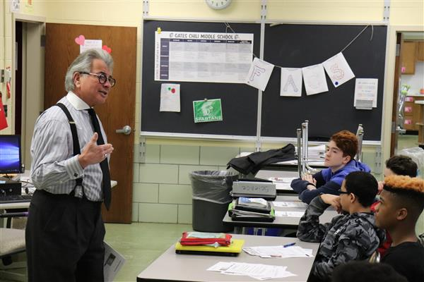 judge speaks to students about financial wellness