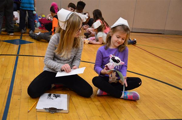 Kindergarten Students Learn How to Stay Healthy through the Teddy Bear Clinic