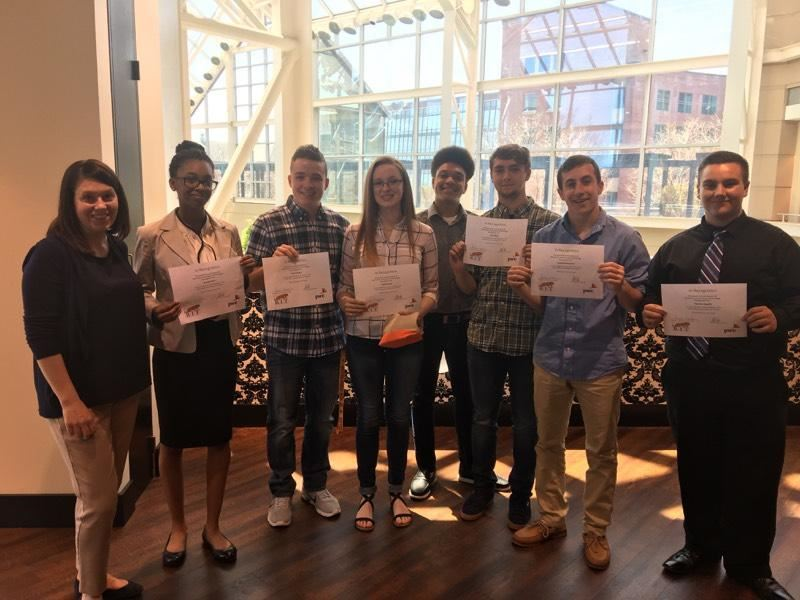 Gates Chili High School Students Earn First Place is Business Financial Plan Competition