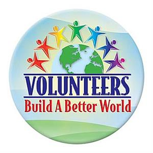 Volunteers build a better world