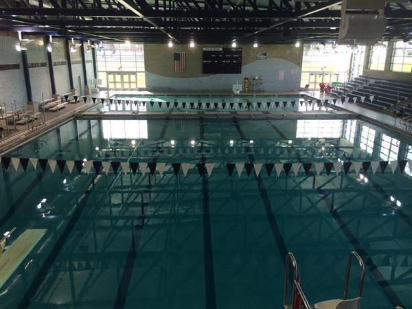 Our Spartan Field House Pool